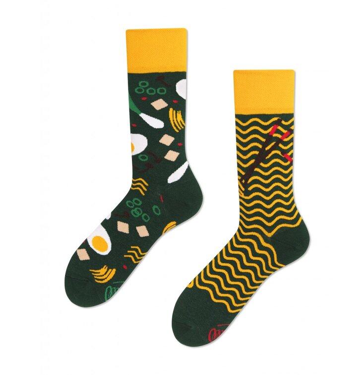 Lustige Socken Chinesische Nudeln