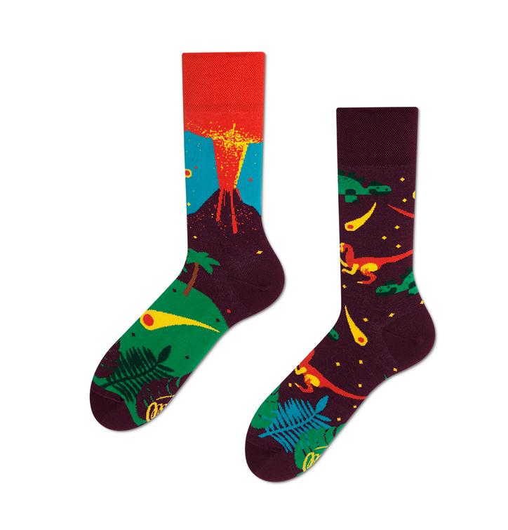 Veselé ponožky Dinosaury