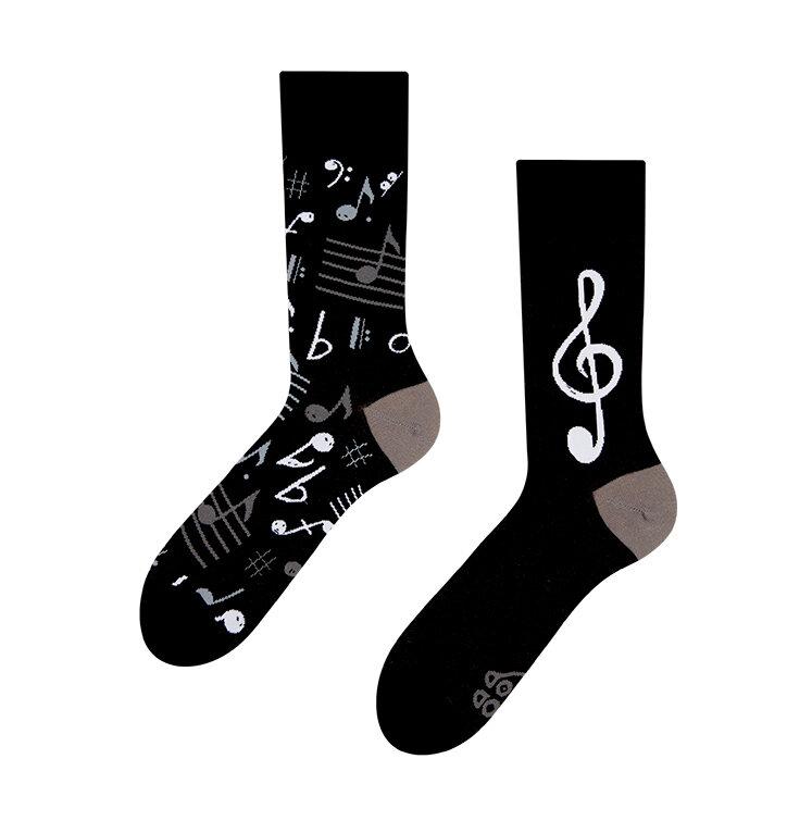 Vidám zokni Zene