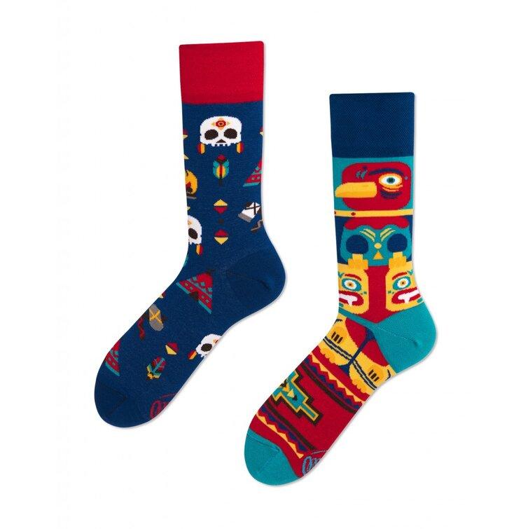 Veselé ponožky Indiánsky kmeň
