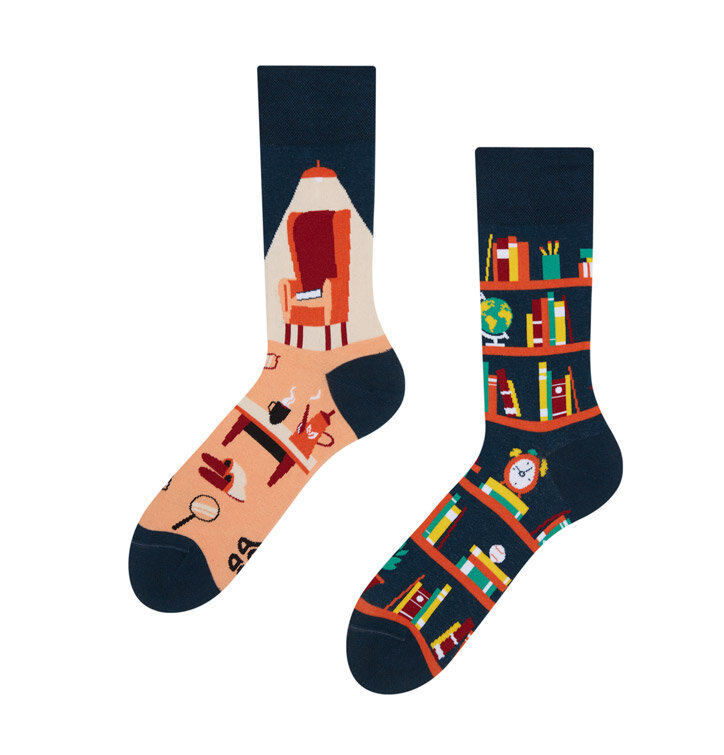 Good Mood Socks - Library