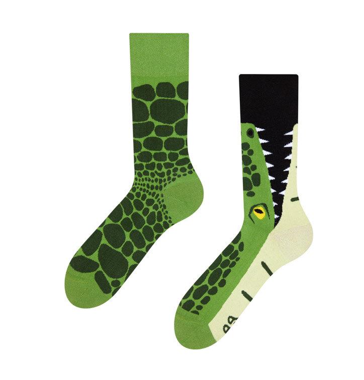 Vidám zokni Krokodíl