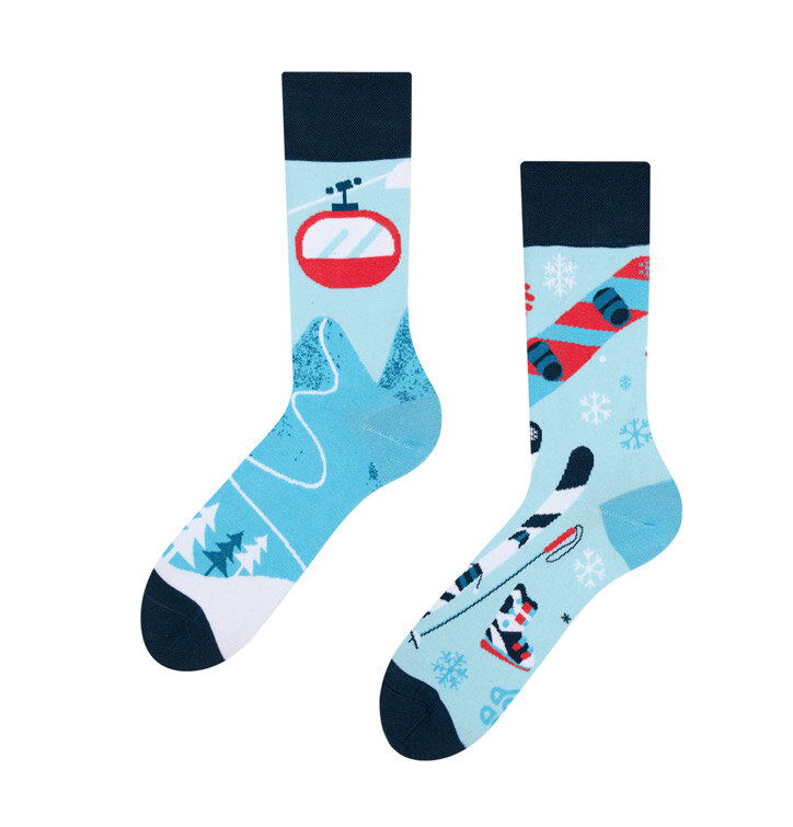 Good Mood Socks - Skiing