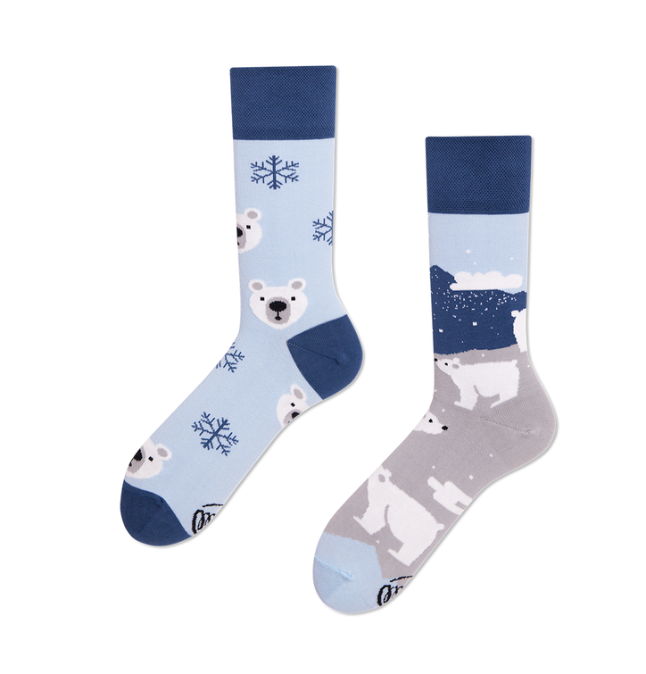 Funny Socks - Polar Bear
