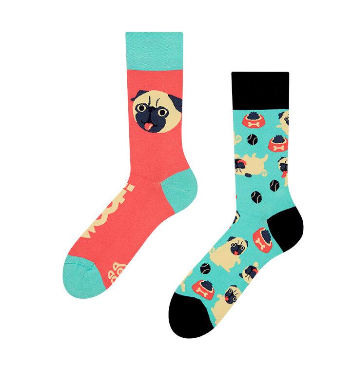 Hledáte originální a neobvyklý dárek  Obdarovaného zaručeně překvapí Veselé  ponožky Mops 5d451edba9