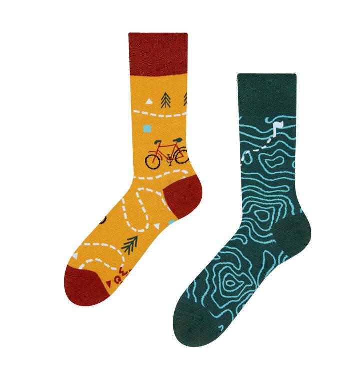 Lustige Socken Auf der Strecke