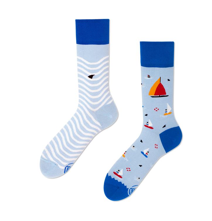 Veselé ponožky Plachetnica