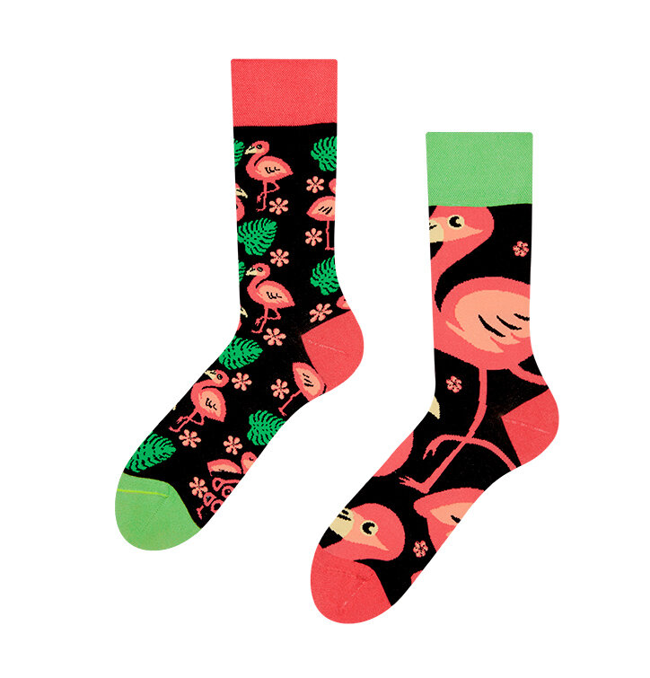 Vidám zokni Flamingók