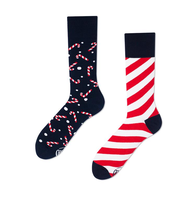 Veselé ponožky Sladké Vianoce