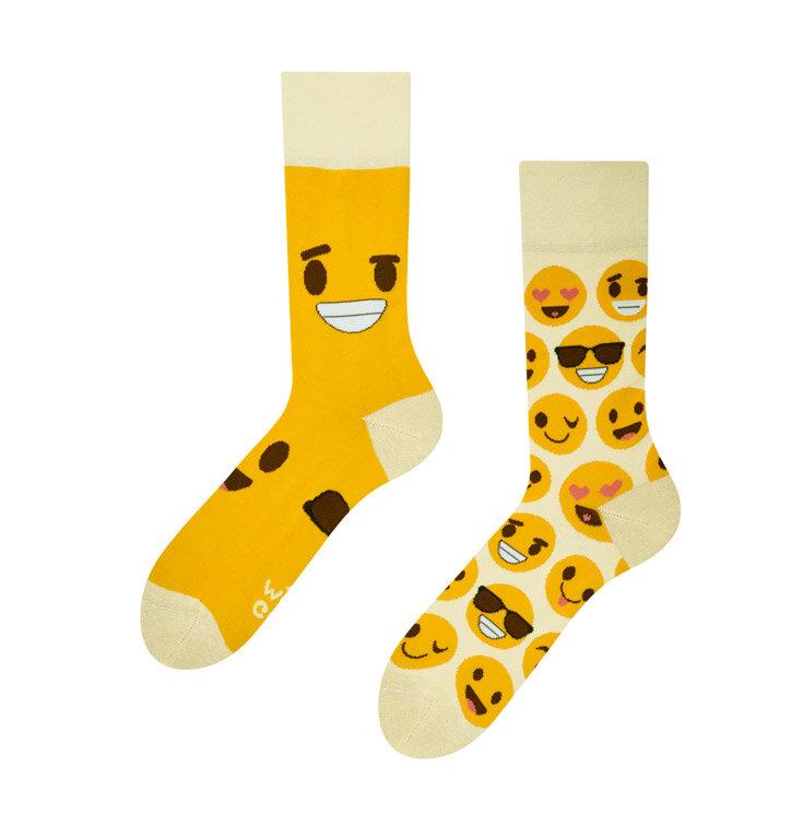 Veselé ponožky Smajlíky