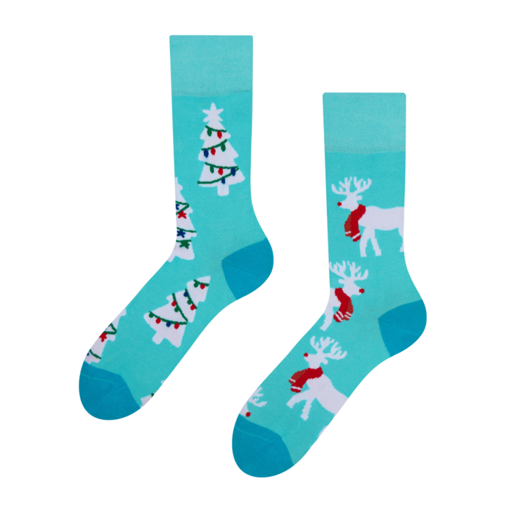Lustige Socken Rentier
