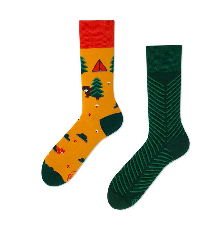Many Mornings socks - Scout's Memories