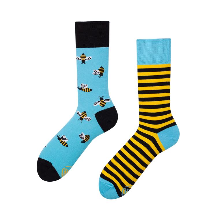 Veselé ponožky Včely