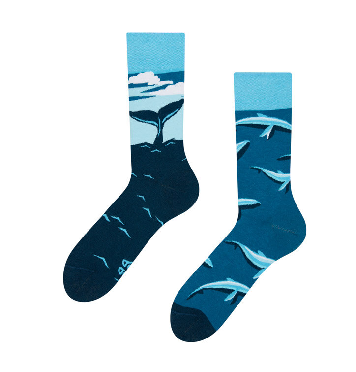 Good Mood Socks - Whale