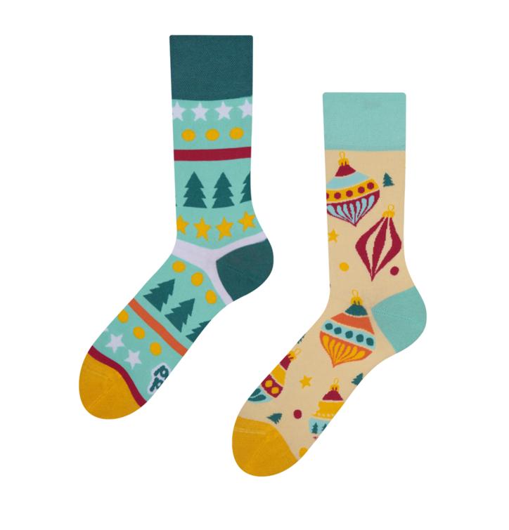 Good Mood Socks Christmas Balls