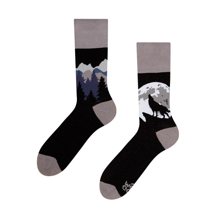Veselé ponožky Vlk