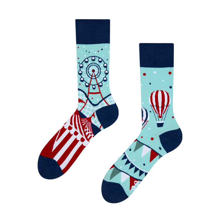 Veselé ponožky Zábavný park