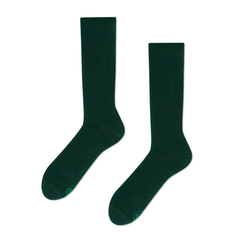 Vidám zokni Zöld smaragd