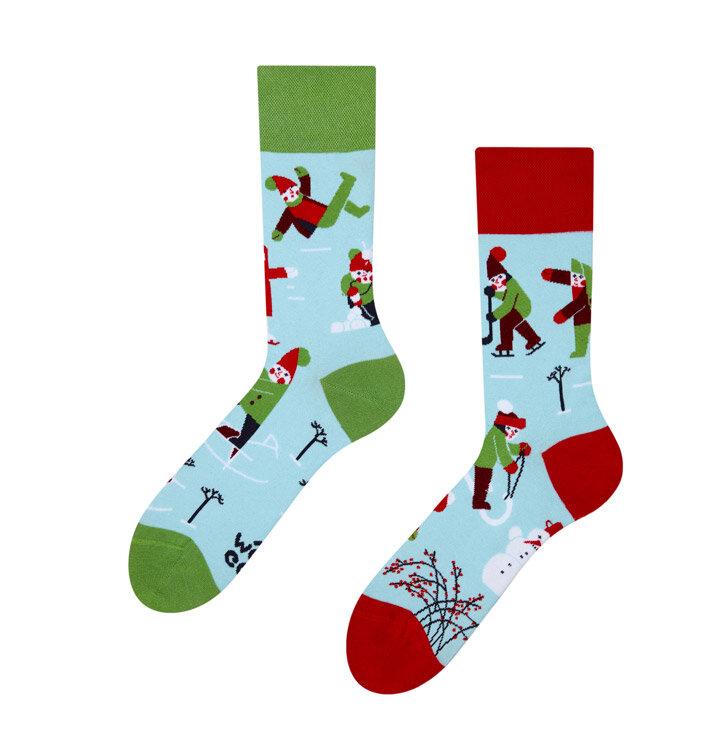 Veselé ponožky Zima