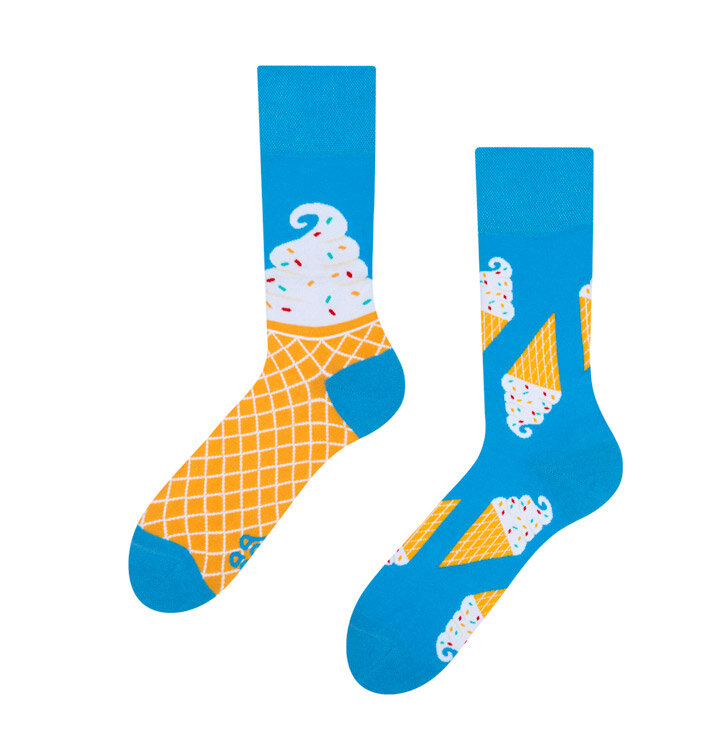 Veselé ponožky Zmrzlina