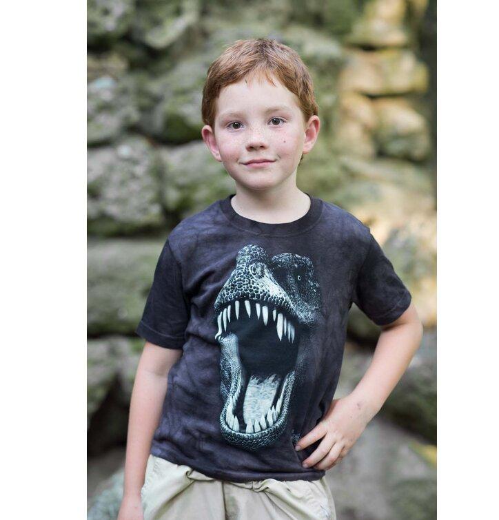 f554dd1f1c4a Výnimočný darček od Dedoles Tričko T-Rex (svietiace) - detské