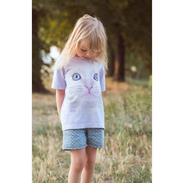 32ab686775ad Hľadáte originálny a nezvyčajný darček  Obdarovaného zaručene prekvapí Tričko  Rozkošné mačiatko – detské