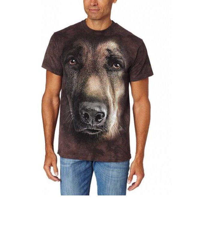 85de0c6fe Tričko Portrét nemeckého ovčiaka | Dedoles