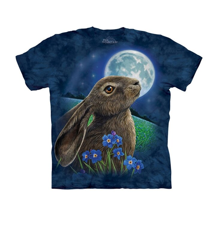 838c0843e184 Pre dokonalý a originálny outfit Tričko Zajac pri mesiaci - detské