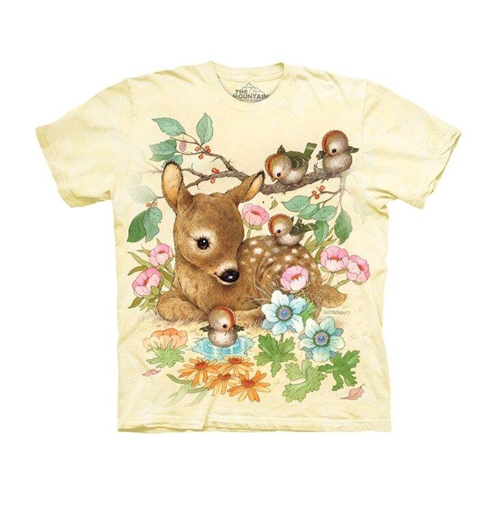 7dbd6182dae5 Tip na darček Tričko Malá srnka - detské