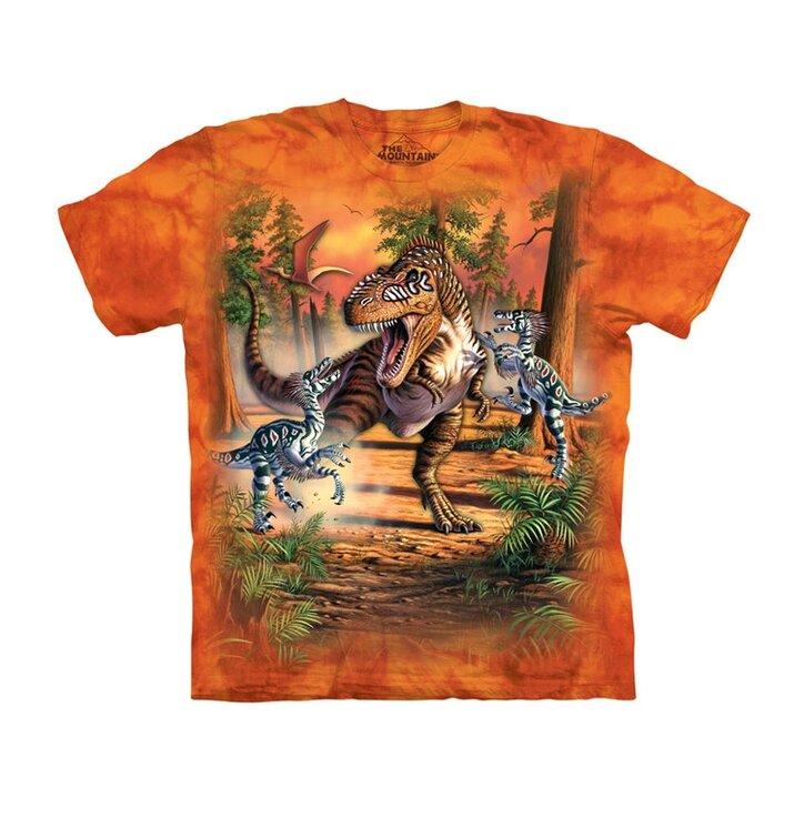 Tričko Bitka dinosaurov - detské