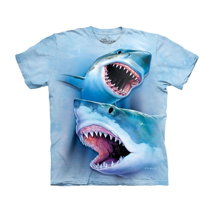 Tričko Veľké biele žraloky - detské