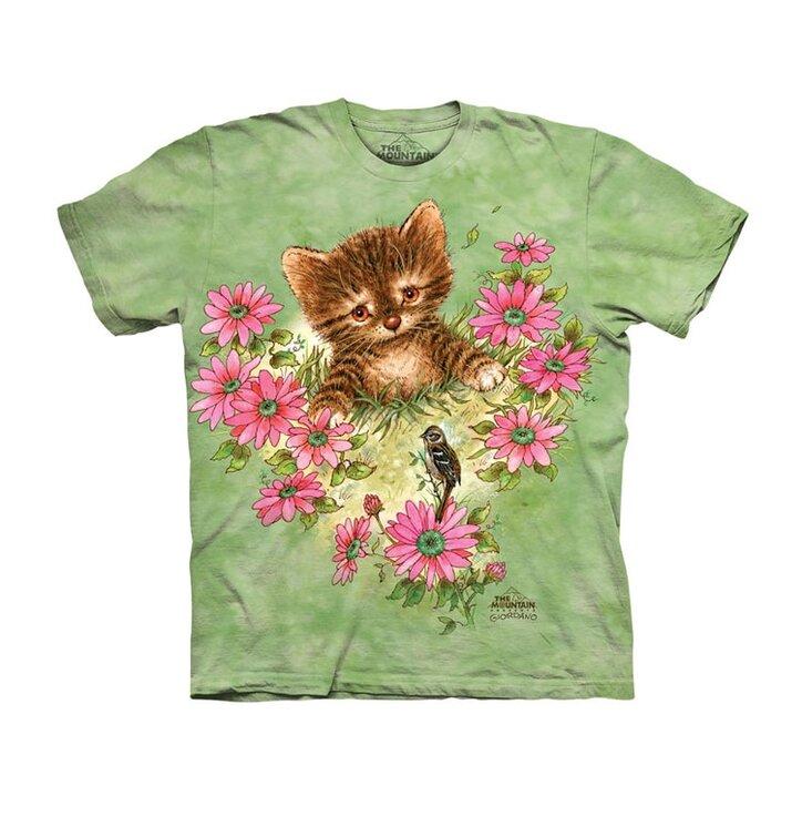 Tričko Zvědavé malé koťátko - dětské