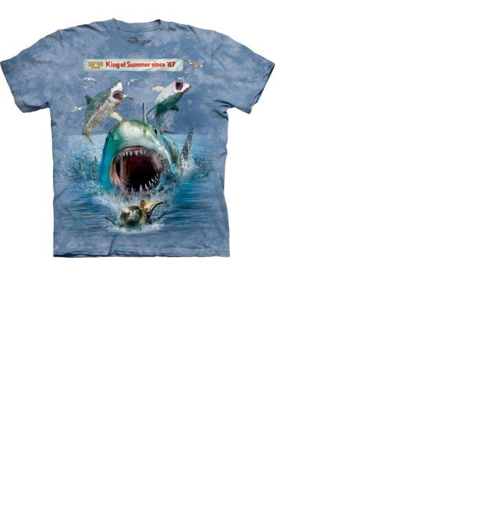 Snuffy Shark Week T Shirt