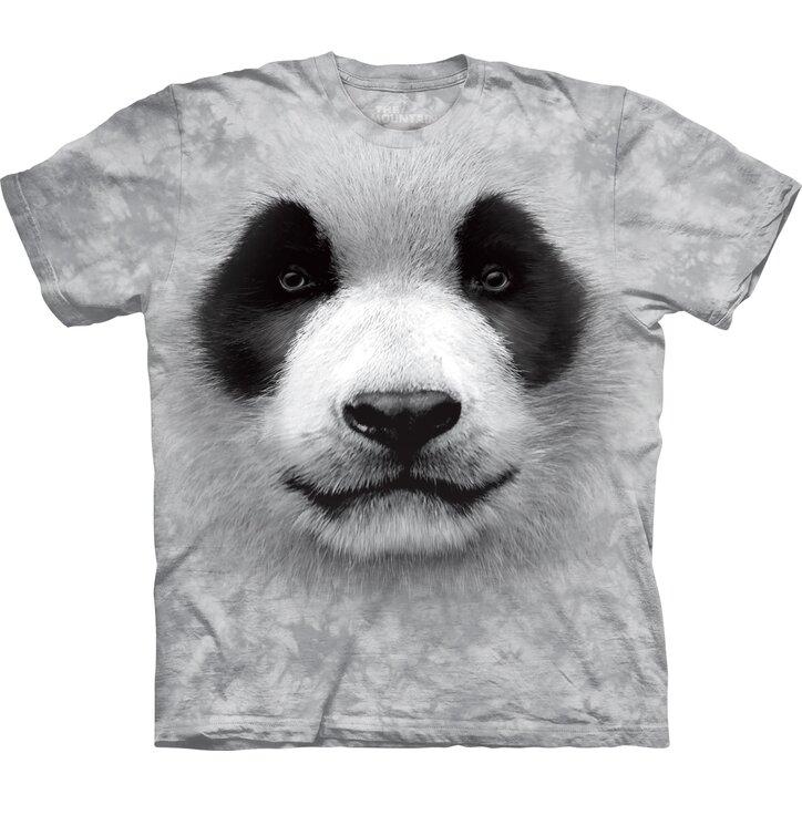 Kinder T-Shirt Weiße Panda