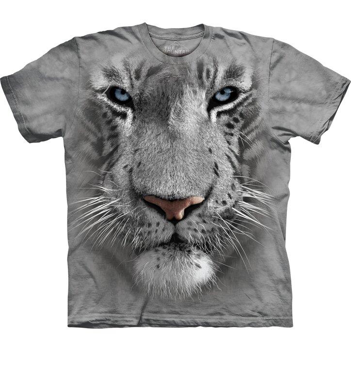White Tiger Face Child