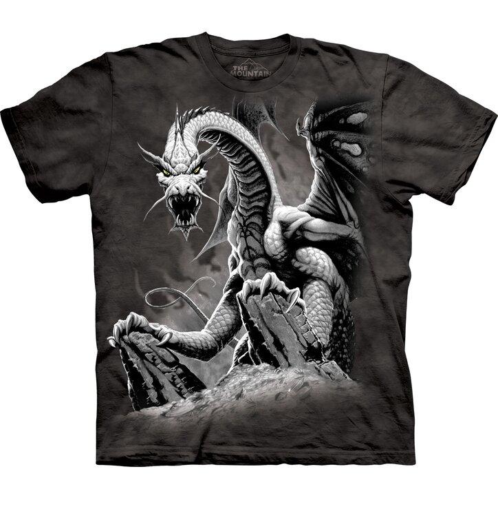 Tričko Chamtivý drak - detské