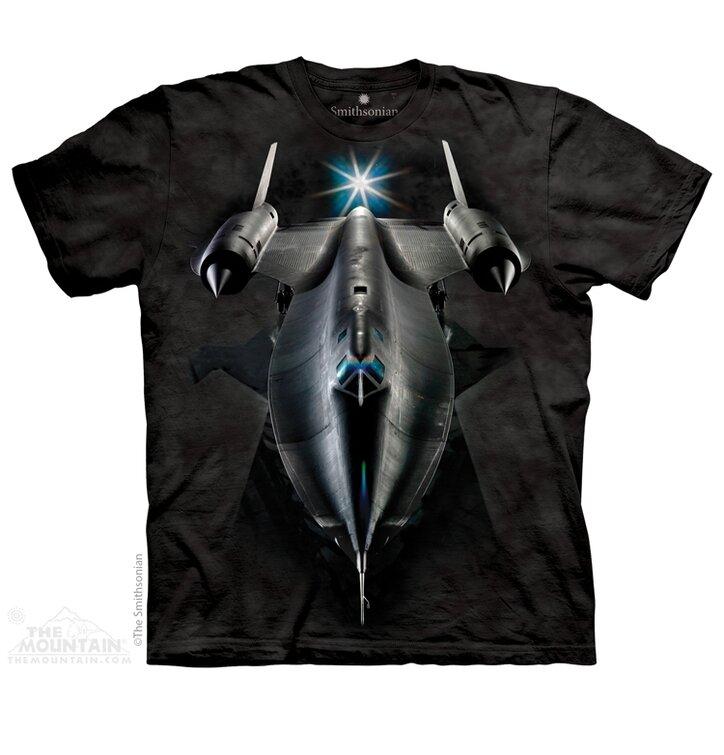 Tričko Černá stíhačka - dětské