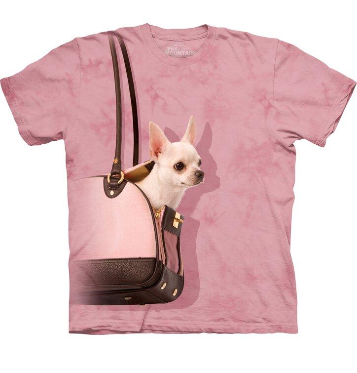 Tričko Čivava v kabelce - dětské