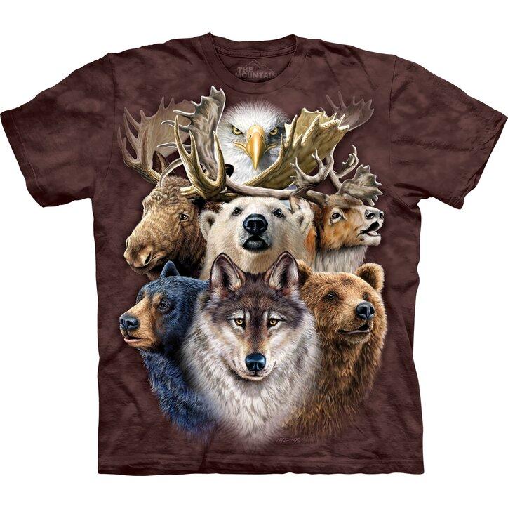 Northern Wildlife Collage Child