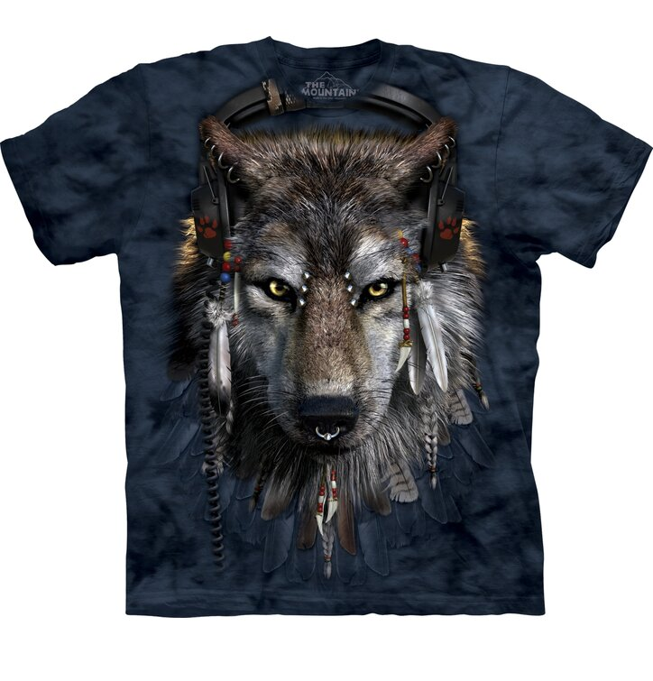 T-Shirt DJ Wolf