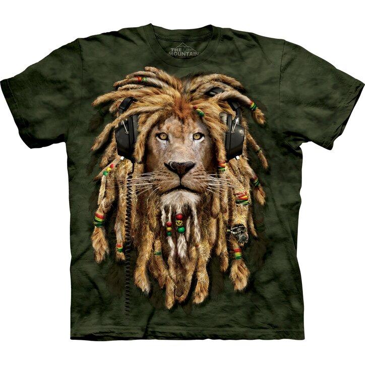 Tričko Dredatý lev - detské