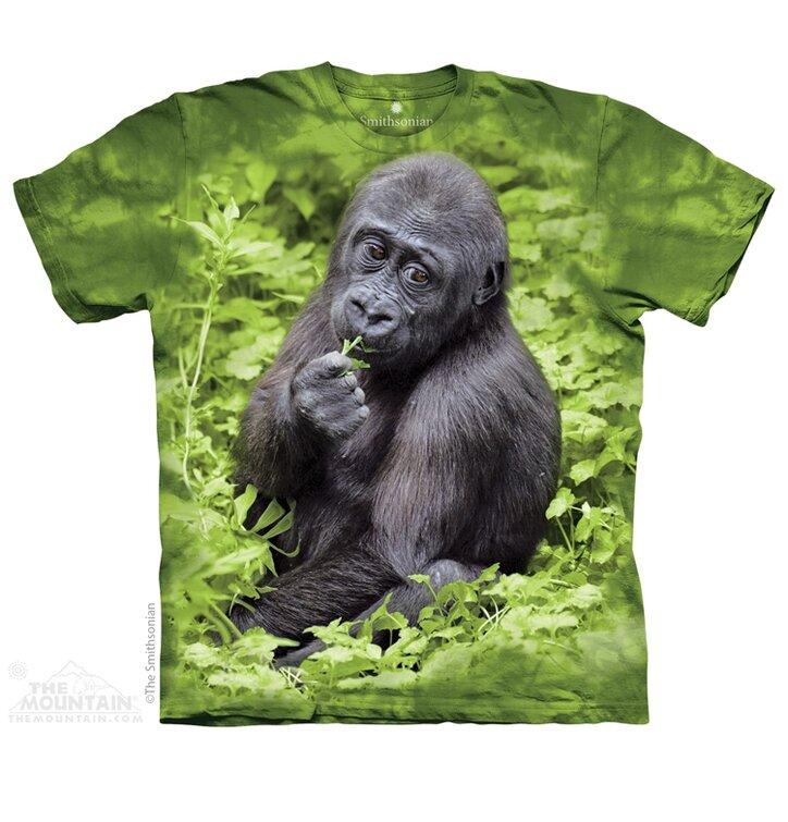 Tričko Gorila nížinná - dětské