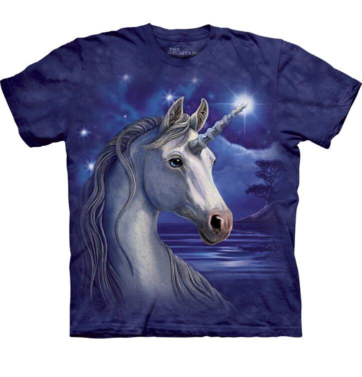 Tričko Jednorožec s hvězdou na čele - dětské