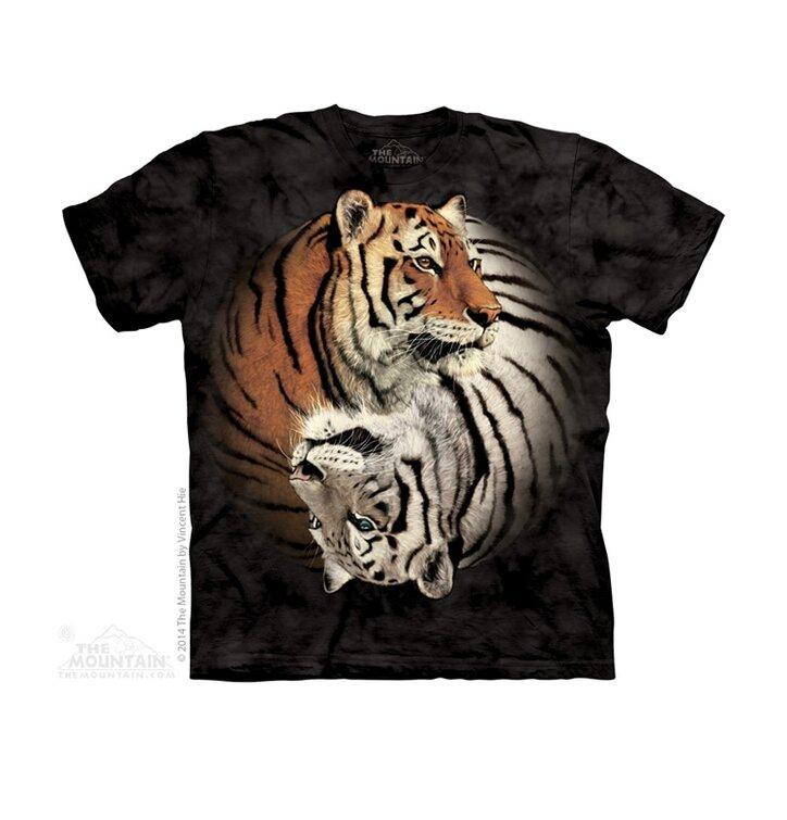 Tričko Jin Jang tygři - dětské