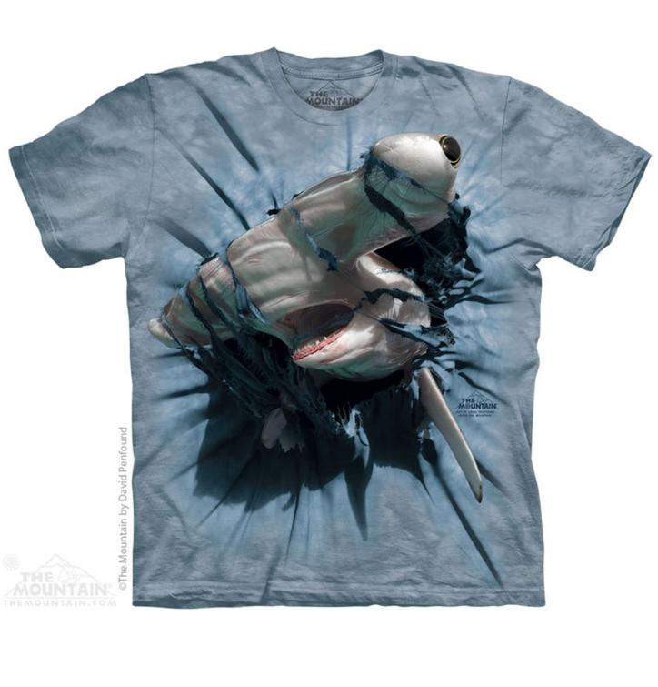 Tričko Kladivohlavý žralok - detské