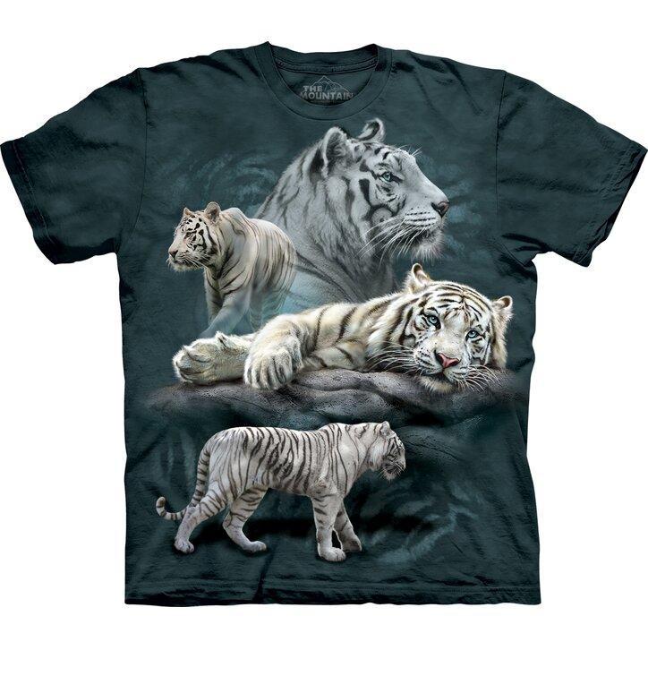 White Tiger Collage Child