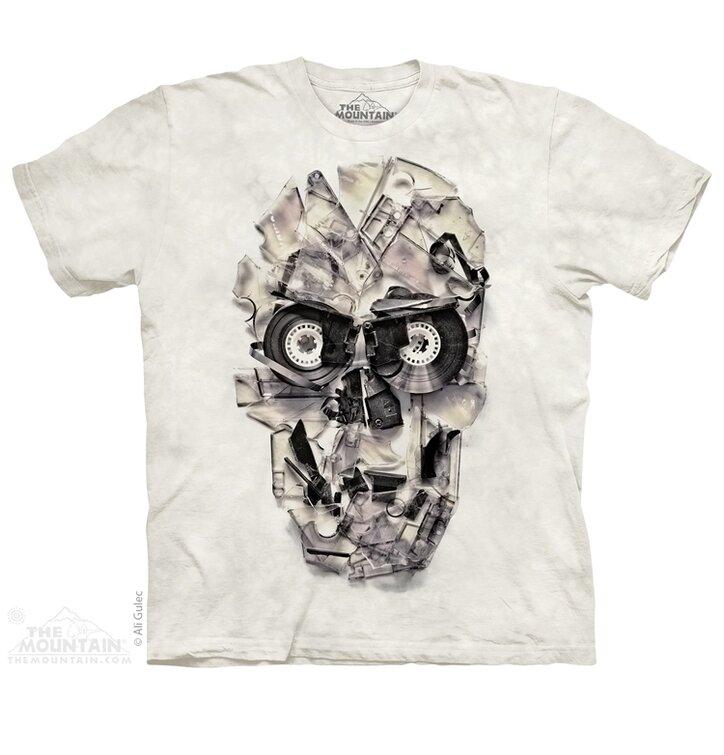 T-Shirt  Bänderschädel