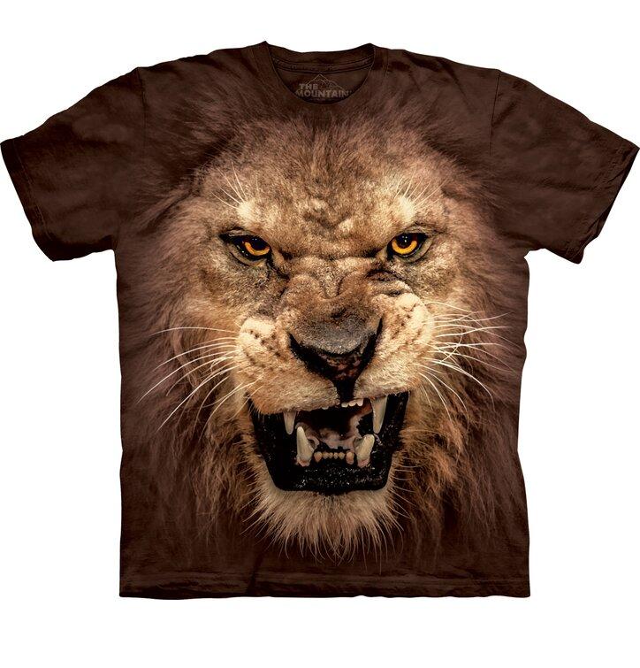 Big Face Roaring Lion Child