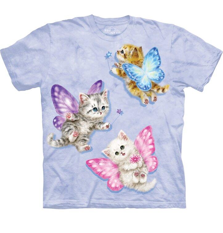 Butterfly Kitten Fairies Child