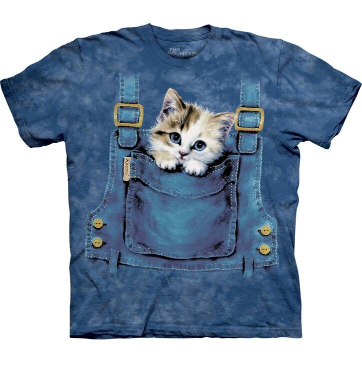 Tričko Mačka vo vrecku - detské